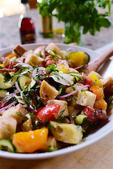 italian bread salad recipe ina garten 17 best ideas about panzanella recipe on pinterest