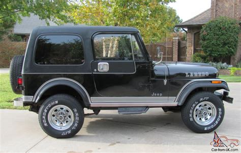 laredo jeep 1984 jeep laredo black cj7 survivor original paint