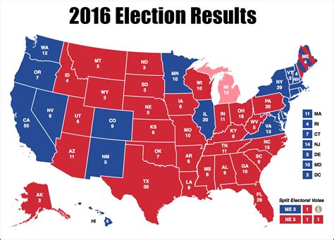 map us election 2016 2016 presidential election electoral map