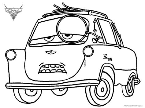 cars 2 coloring pages grem cars coloring pages cars 2 professor z coloring pages