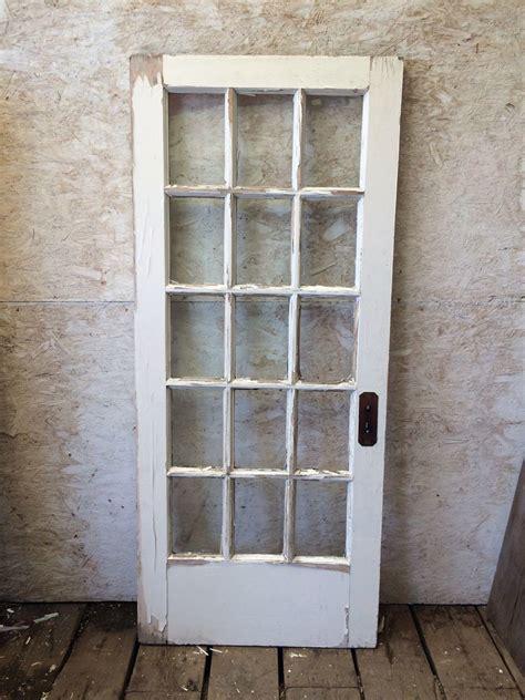 ic single interior antique french door