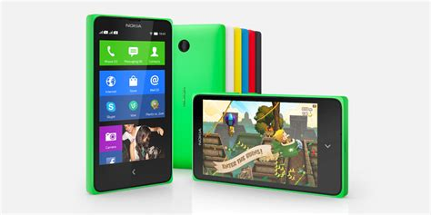 nokia android phone android nokia x x and xl phone specifications