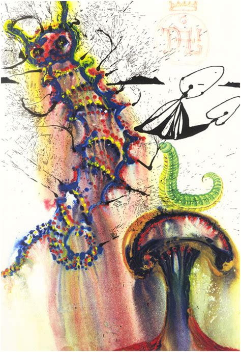 alice in wonderland illustrations of salvador dali