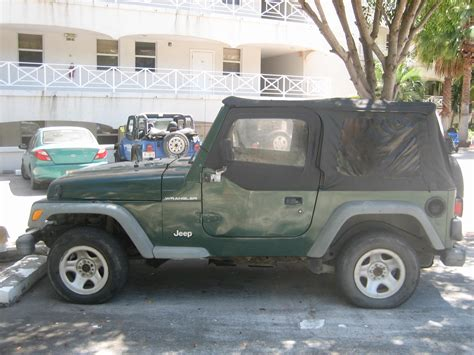 Green Jeep For Sale 2001 Green Jeep Wrangler For Sale 5 800 Obo