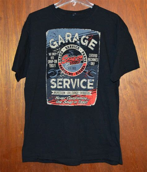 T Shirt Snap On snap on quality tools mens t shirt xl eagle what s it worth