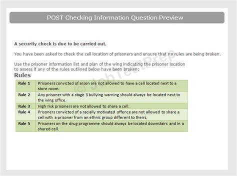 Correctional Officer Test by Prison Officer Selection Test Preparation Jobtestprep