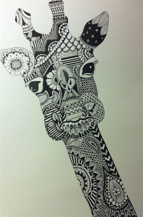 zentangle pattern giraffe zentangle giraffe art pinterest giraffes and zentangle