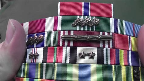 Army Ribbon Rack Holder by Mil Thin Ribbon Racks