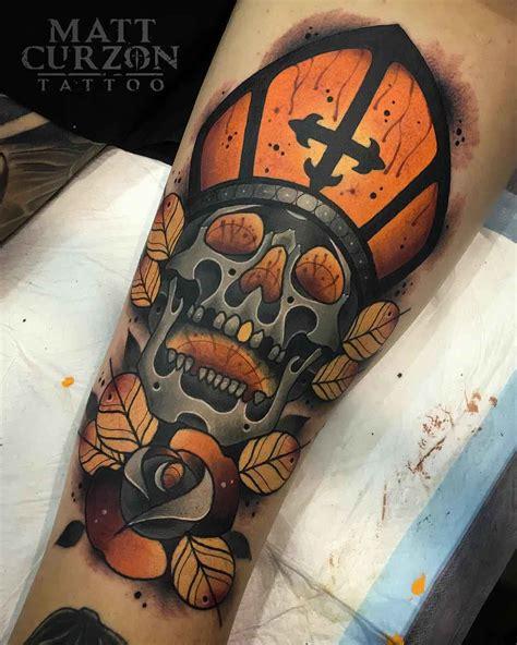 traditional skull tattoo holy skull neo traditional style neo traditional