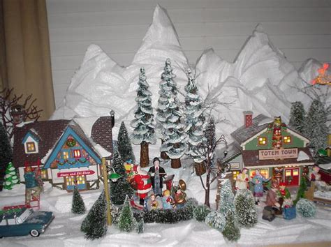 home design image ideas dept 56 snow village display ideas
