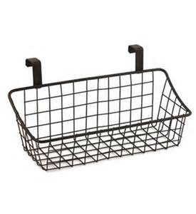 the cabinet door basket cabinet door storage basket bronze in cabinet door