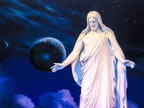 Mormon Temple Christmas Lights File Christus Statue Temple Square Salt Lake City Jpg