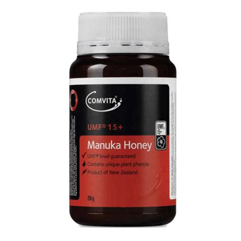 Comvita Umf Manuka Honey 5 250g buy comvita umf 15 manuka honey 250g not available in wa at chemist warehouse 174