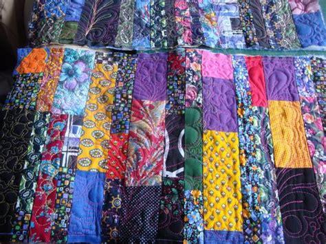 colorful contemporary quilts  unique striped patchwork