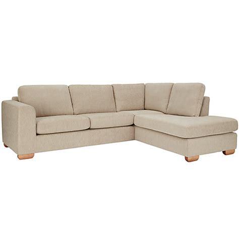 chaise end sofa buy john lewis felix rhf corner chaise end sofa with light