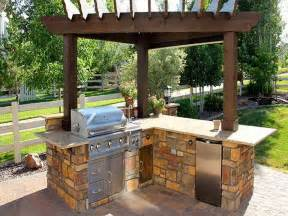Patio Ideas Grill Best 25 Simple Outdoor Kitchen Ideas On