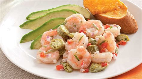 Fast Easy Dinner Salad With Saganaki by Pickled Okra And Shrimp Salad 26 Fix Seafood