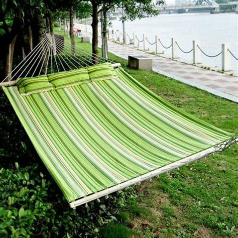 swing hammock bed outdoor 2 person hammock cotton double size sleeping bed