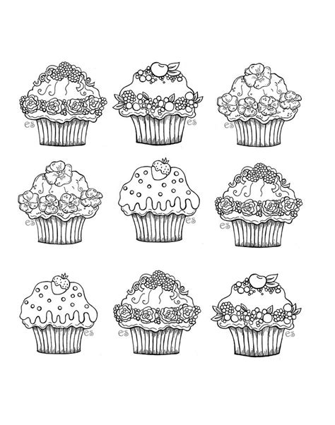 coloring pages for adults cupcakes pour imprimer ce coloriage gratuit 171 coloriage a imprimer