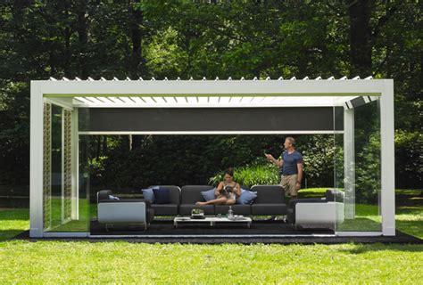 pavillon sturmsicher machen camargue renson outdoor terrasoverkappingen