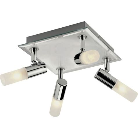 Argos Bathroom Light Buy Collection Square 4 Light Bathroom Spotlight Chrome At Argos Co Uk Your