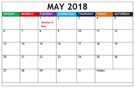 printable calendar south africa 2018 may 2018 calendar south africa printable calendar templates