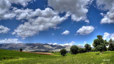 mountains landscape nature mountain sky clouds wallpaper