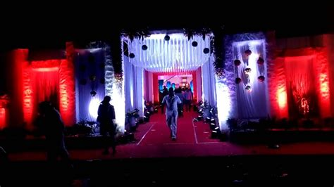 Wedding Entry by Wedding Entry Gate Lighting Decoration Wedding Planners