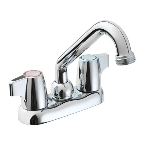 Laundry Tub Faucet Repair by Moen Manor 2 Handle Laundry Faucet Chrome Finish The