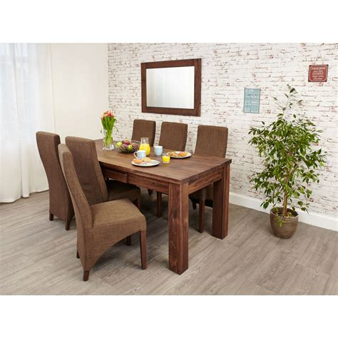 Linea Solid Walnut Furniture Large Dining Room Extending Large Dining Room Furniture