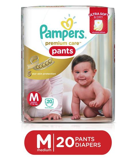 Wecare Diapers pers premium care medium pack of 20 buy pers premium care medium pack of 20