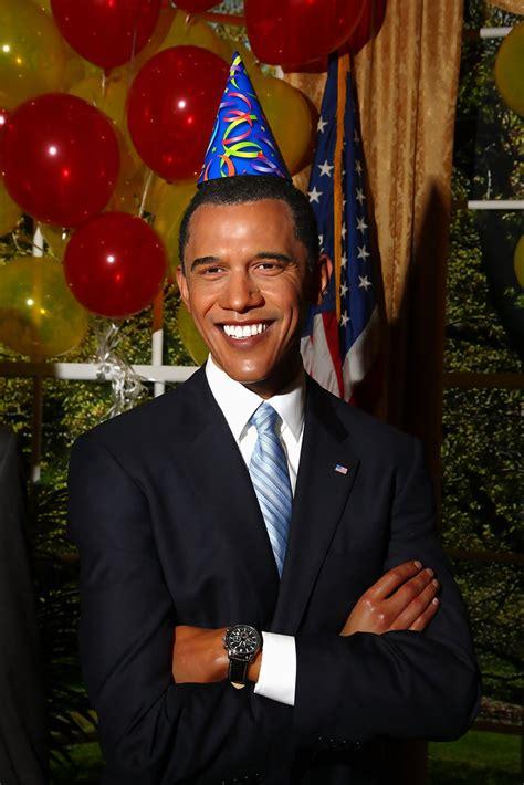 obama birthday madame tussauds celebrates president barack obama s birthday zimbio