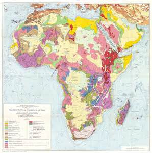 africa geological map 1958 size