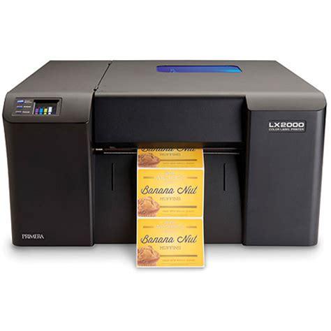 color label printer primera lx2000 color label printer 74461 b h photo