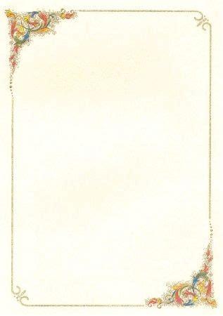 cornici per lettere cornici per poesie word cornici per pergamena fornici