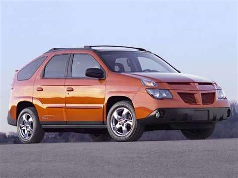 2005 pontiac aztec 2005 pontiac aztek models trims information and details