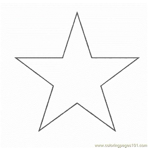 free star s coloring pages