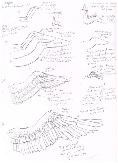 tutorial drawing doodle wing tutorial how i draw them by jackofalltrades0097 on