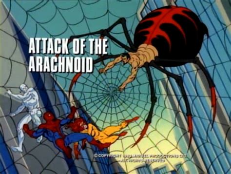 spider man   amazing friends  attack   arachnoid episode