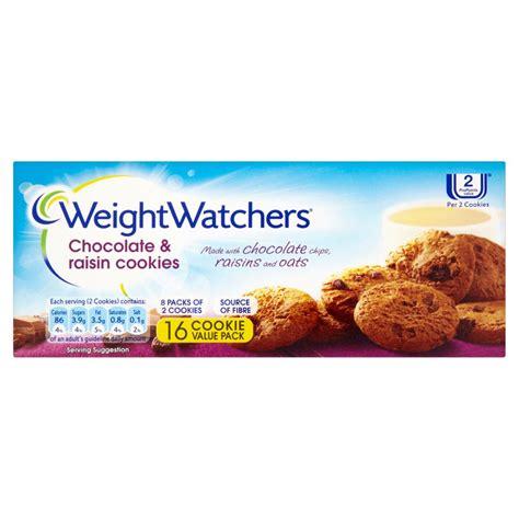 weight watchers sugar cookie recipe weight watchers 16 chocolate raisin cookies 152g sweet