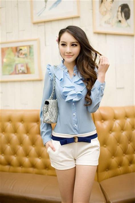 blus casual model longgar model baju blus wanita modern terbaru 2016 danitailor
