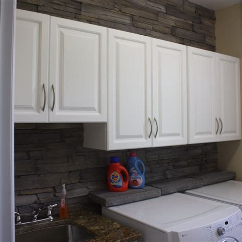 stone backsplash in laundry room get inspired with stone