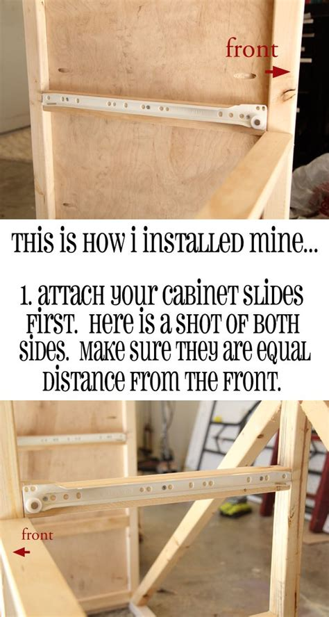 How To Put In Drawer Slides by 35 Best Images About Drawer And Drawer Slides On