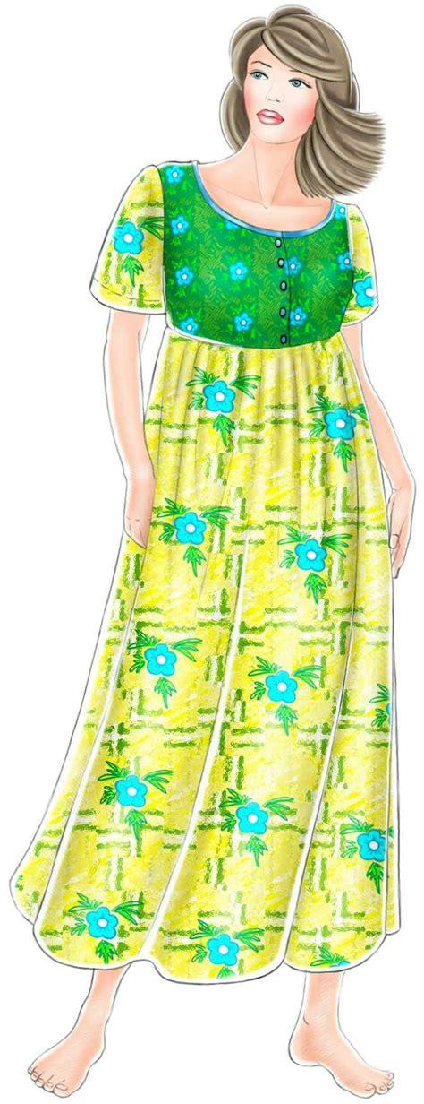 dress pattern nightdress nightdress sewing pattern 5227 made to measure sewing