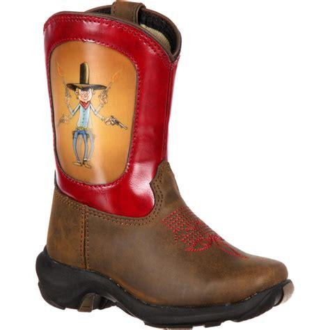 toddler cowboy boots durango toddler cowboy lenticular western boot dwbt015