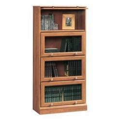 buy sauder barrister bookcase 4 glass door from mygofer Sauder Bookcase With Glass Doors