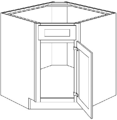 36 corner sink base cabinet dsb36 diagonal corner sink base cabinet 36 quot wide x 24