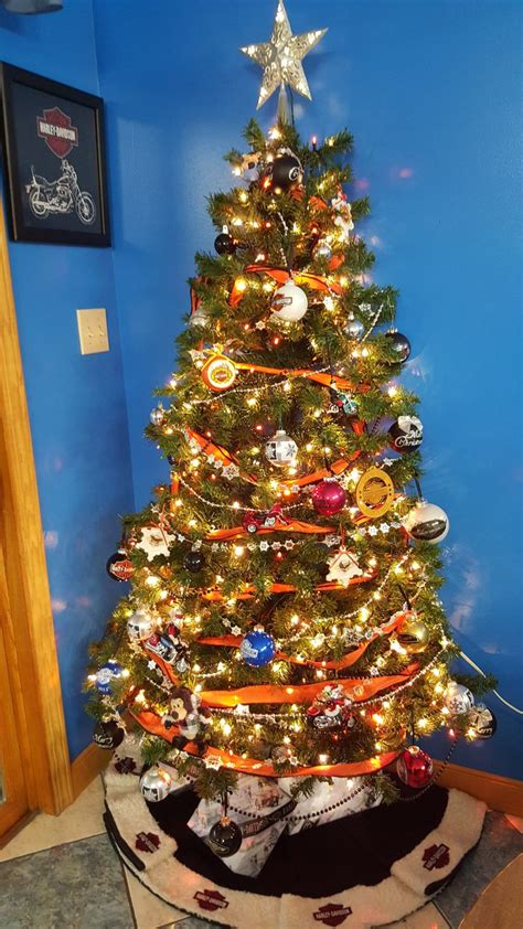 harley davidson christmas tree with out tinsel loretta s