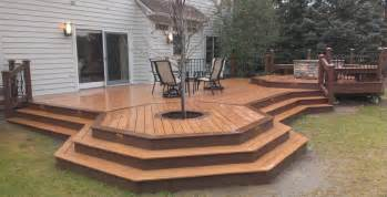 pit on wood deck pit wood deck protection deck design and ideas