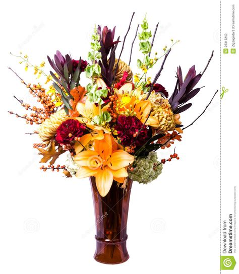 Arrange Flowers In A Vase by Blooming Flower Arrangement In Vase Stock Photo Image